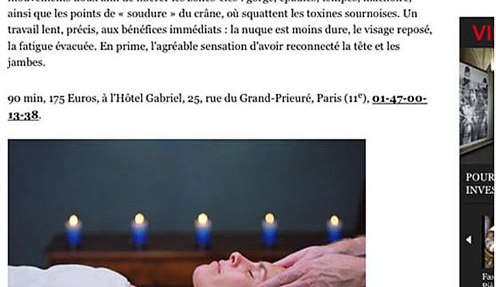 パリ雑誌にも掲載